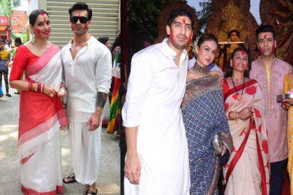 रानी मुखर्जी-काजोल समेत इन बॉलीवुड सितारों ने जमकर खेला सिंदूर खेला, देखिए पति संग बिपाशा बसु की तस्वीरें