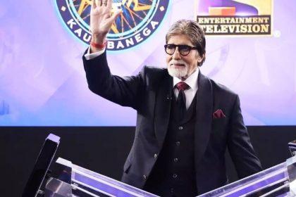 अमिताभ बच्चन का टीवी शो 'कौन बनेगा करोड़पति' (फोटो-सोशल मीडिया)