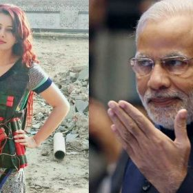 Pakistani singer Rabi Pirzada being human bomb shares photo threatens PM Narendra Modi