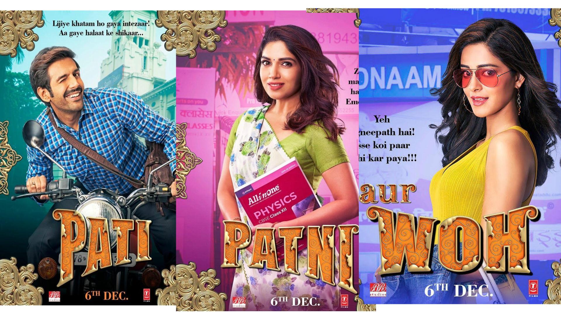 Pati Patni Aur Woh Review: कॉमेडी और इमोशन से भरपूर है पति पत्नी और वो.. कार्तिक, भूमि अनन्या पांडे का धमाल