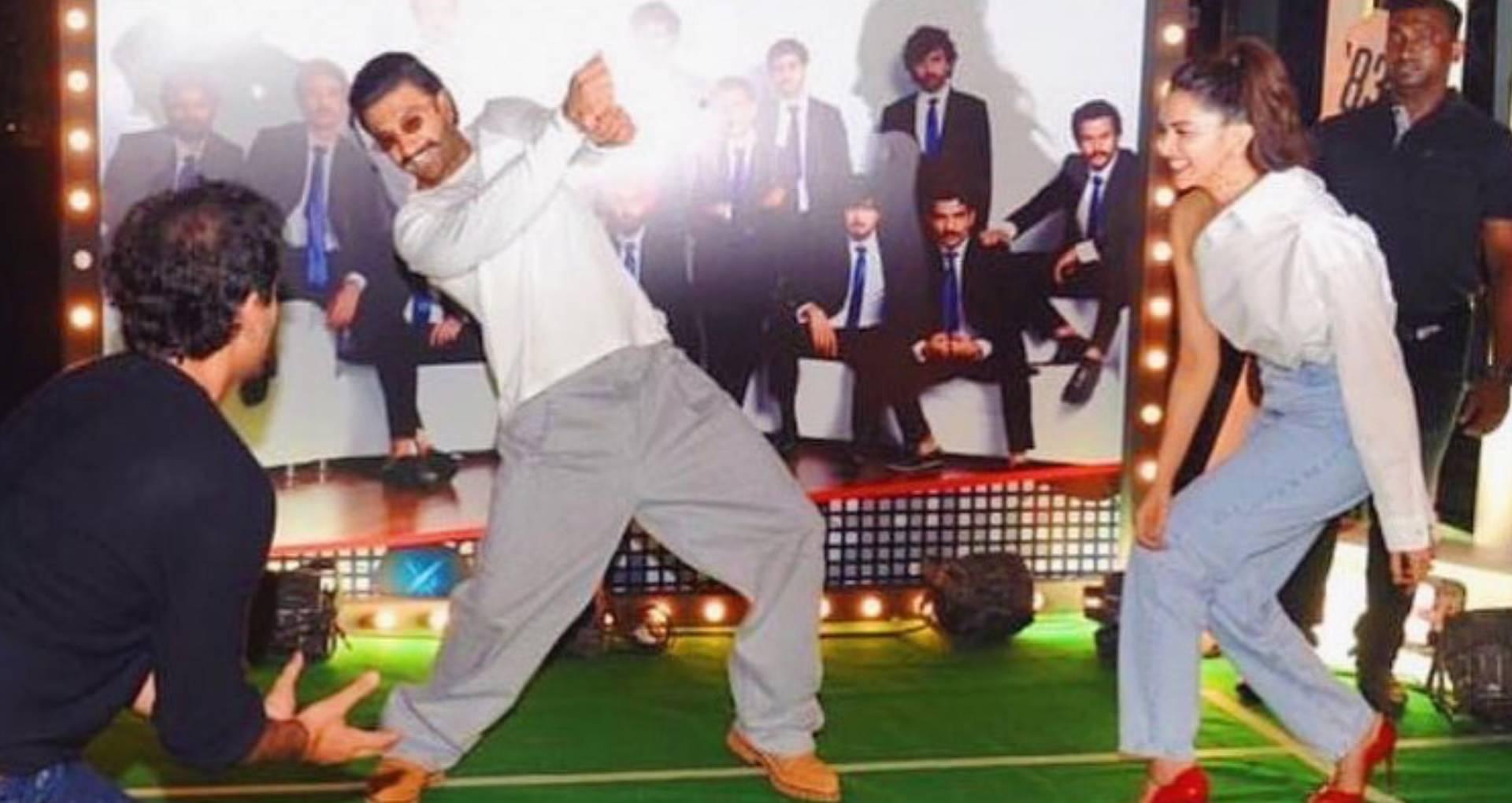 VIDEO: फिल्म 83 की रैपअप पार्टी में दीपिका पादुकोण-रणवीर सिंह ने मचाया धमाल, साथ खेला क्रिकेट और किया डांस