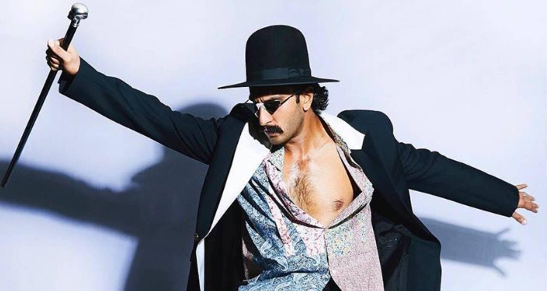 1 लाख 60 हज़ार का है रणवीर सिंह का यह जैकेट, सेफ्टीपिन वाले डिज़ाइन के चश्में की कीमत भी है हज़ारों में