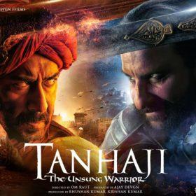 Tanhaji The Unsung Warrior, Ajay Devgn, Saif Ali Khan, Kajol