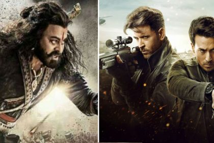 War Sye Raa Narasimha Reddy box office collection day 1 Hrithik Roshan Tiger Shroff Chiranjeevi