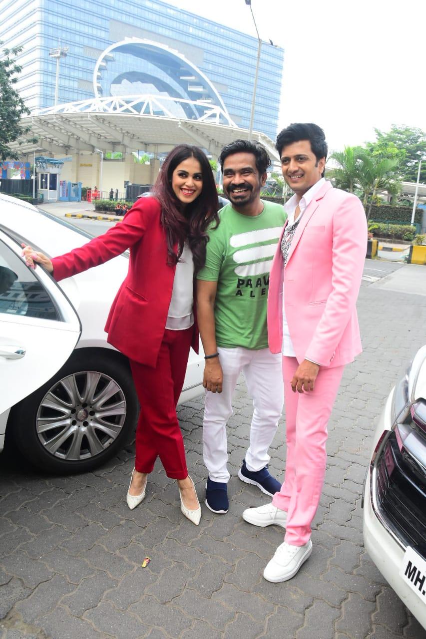 Riteish Deshmukh and Genelia D'Souza picture