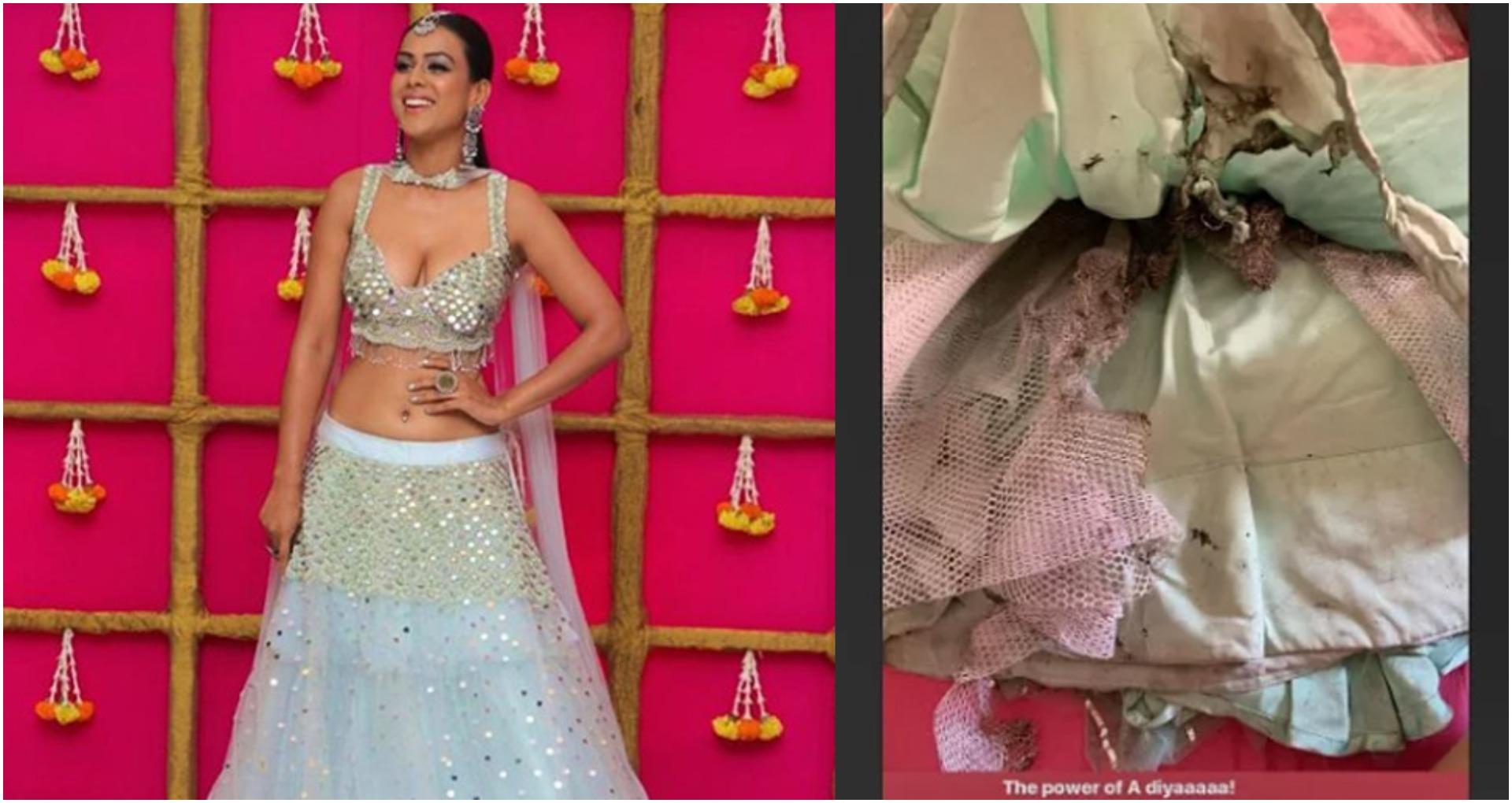 Trending News: टीवी अभिनेत्री निया शर्मा के कपड़ों में आग, मन रही थीं शुभ दीपावली, पढ़ें टीवी की टॉप 5 न्यूज़