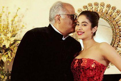 Boney Kapoor Birthday, Janhvi Kapoor