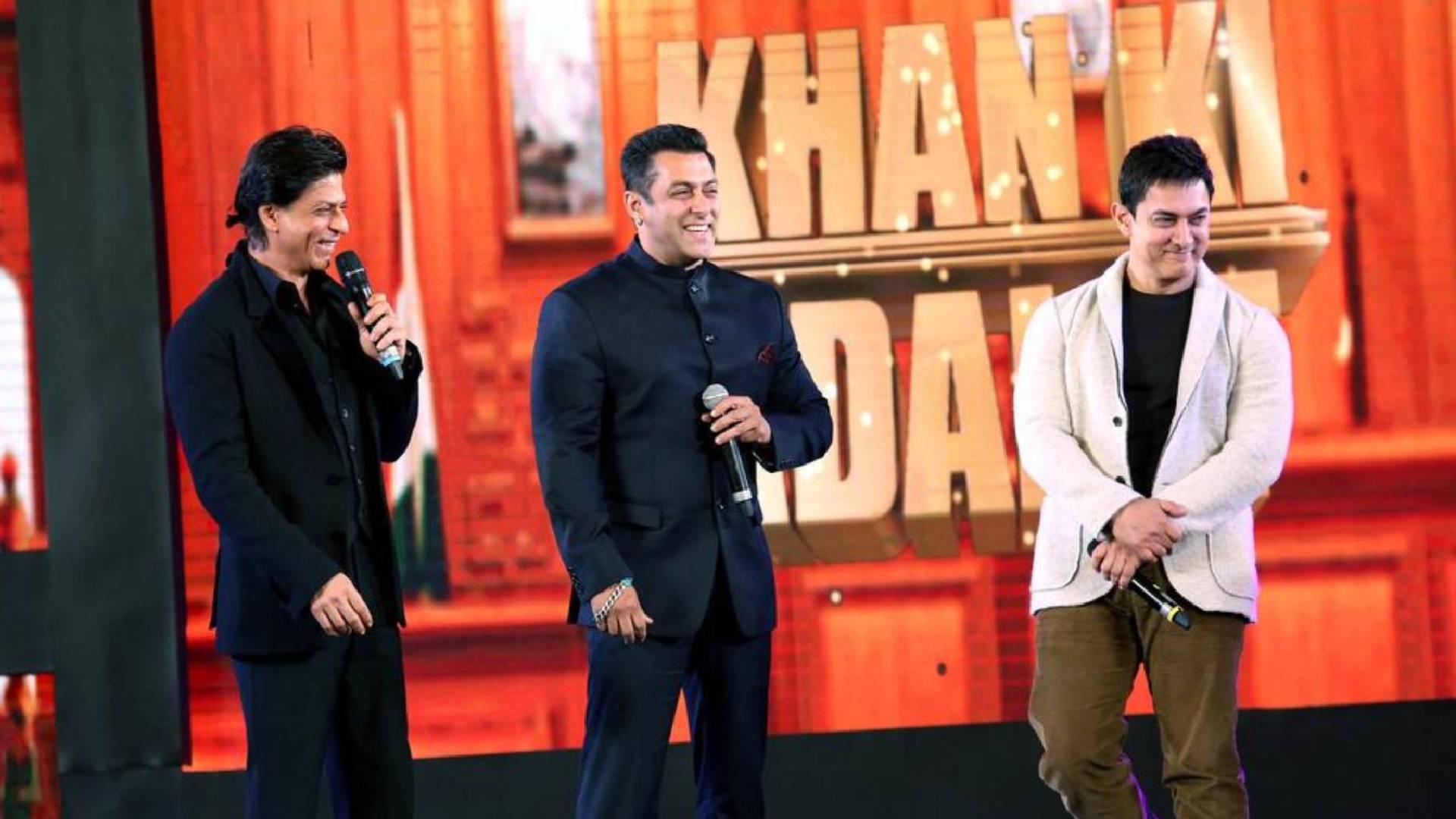 सलमान, शाहरुख और आमिर खान पहली बार करेंगे साथ काम, जल्द होगा इसका आधिकारिक ऐलान