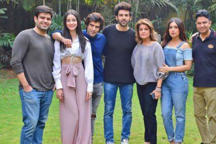 Pati Patni Aur Woh film shooting start Kartik Aaryan Ananya Panday Bhumi Pednekar