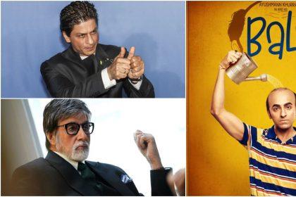 शाहरुख़ खान, अमिताभ बच्चन और आयुष्मान खुराना की तस्वीर (फोटो इंस्टग्राम)