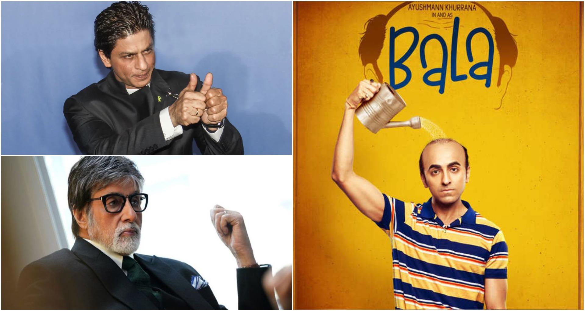 Bala Movie Review: शाहरुख़ खान- अमिताभ बच्चन की मिमिक्री से आयुष्मान खुराना ने जीता दिल, बाला बनी जबरदस्त फिल्म