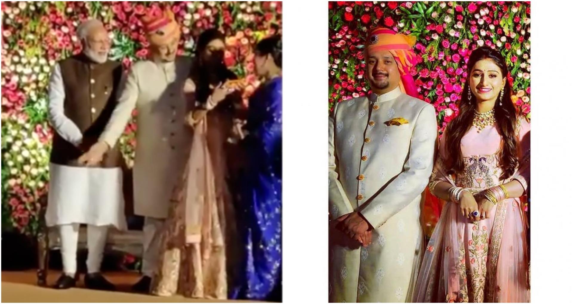 'ये रिश्ता…फेम मोहिना कुमारी की ग्रैंड रिसेप्शन पार्टी में पहुंचे देश के प्रधानमंत्री नरेंद्रमोदी, ये तस्वी