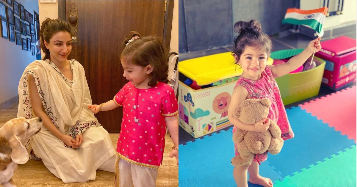 इनाया नौमी केम्मू सोहा अली खान और कुनाल केम्मू की बेटी (इंस्टाग्राम )