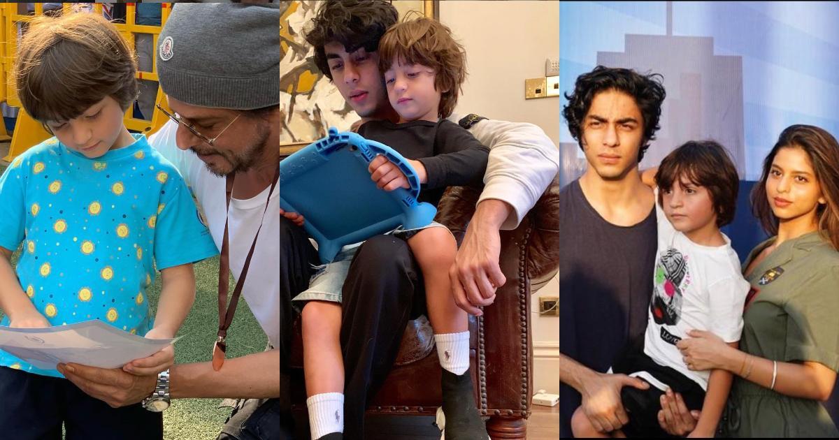 शाहरुख खान के बेटे अब्राम खान (इंस्टाग्राम )