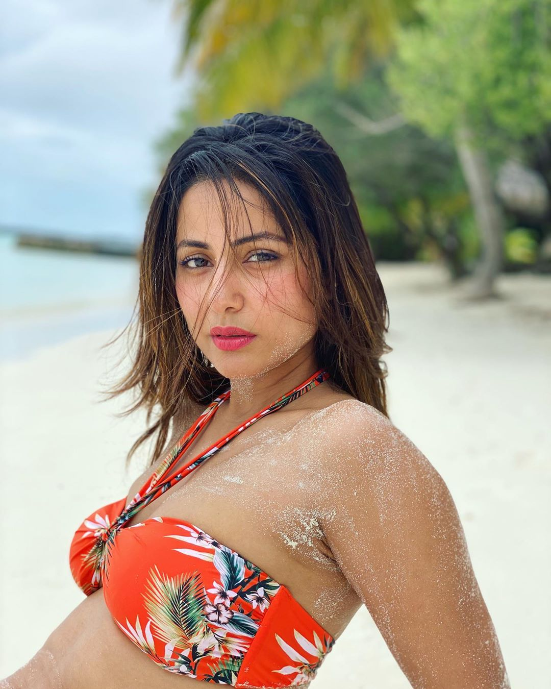 Hina Khan Bikini Photos