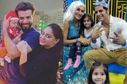 PHOTOS: जय भानुशाली, माही विज से करणवीर बोहरा, तीज सिद्धू तक और कई टीवी कपल और उनके बेहद क्यूट बच्चे :
