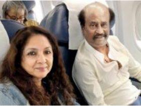 नीना गुप्ता ने शेयर की सुपरस्टार रजनीकांत के साथ सेल्फी, साथ में फिल्म करने की इच्छा की जाहिर