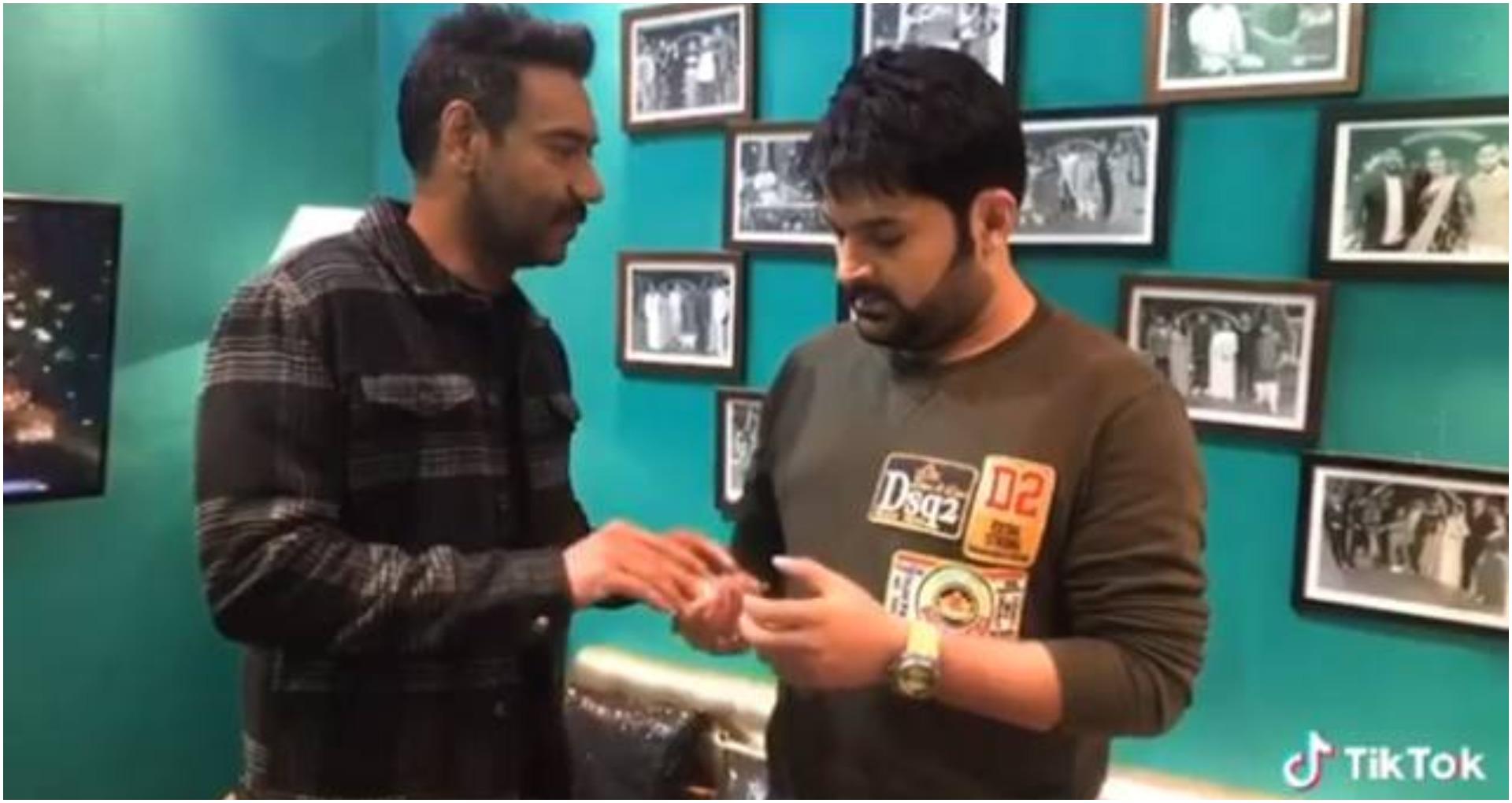 Video: कपिल शर्मा ने अजय देवगन से तानाजी के प्रमोशन के लिए ली रिश्वत, कहा – 'भ्रष्टाचार हर जगह है।'