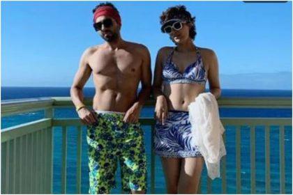 आयुष्मान खुराना और उनकी पत्नी की तस्वीर (फोटो: इंस्टाग्राम)