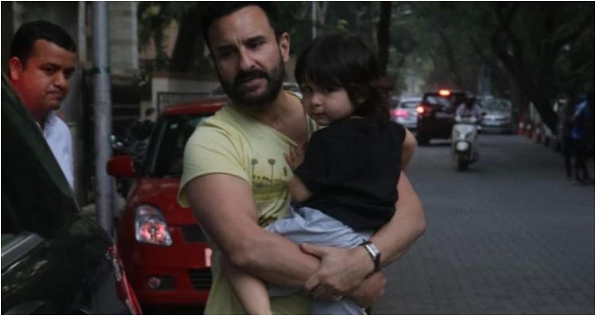 सैफ अली खान और तैमूर अली खान की तस्वीर (फोटो: इंस्टाग्राम)
