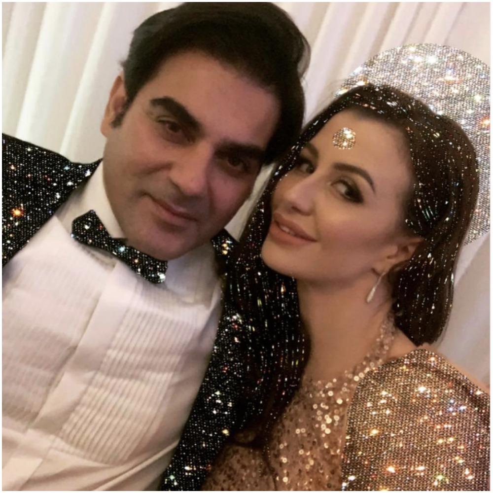 अरबाज खान और जियोर्जिया एंड्रियानी की तस्वीर (फोटो: इंस्टाग्राम)