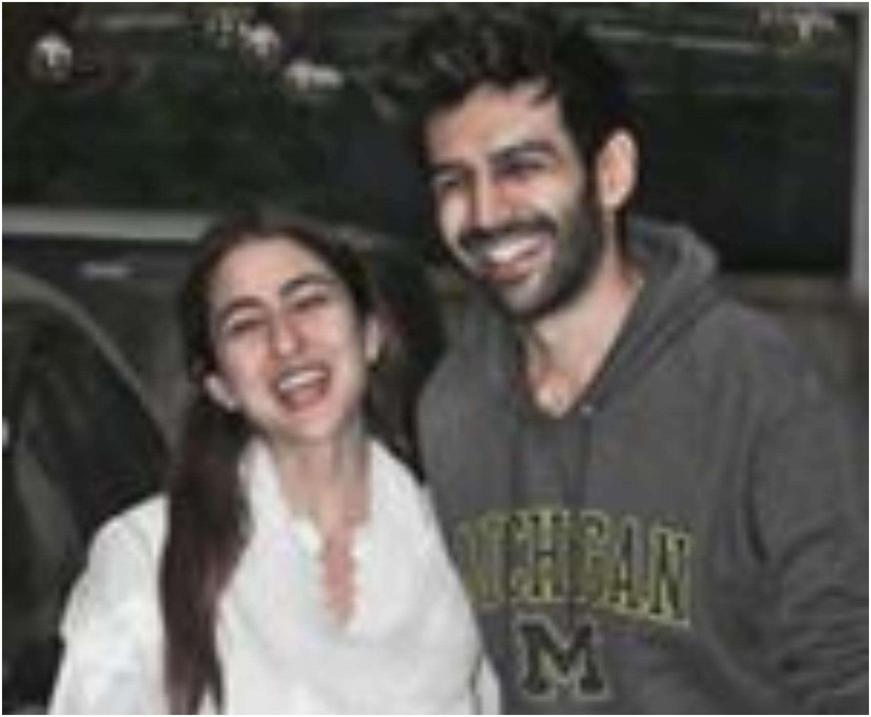 कार्तिक आर्यन और सारा अली खान एक बार फिर साथ आए नजर, वजह रिपोर्ट में पढ़े :