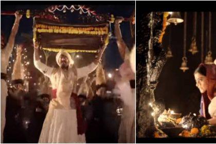 अजय देवगन सर पर पालखी उठाये, देवी के आगे सिष झुकाये दिख रहे हैं 'माय भवानी'गाने में, देखें वीडियो