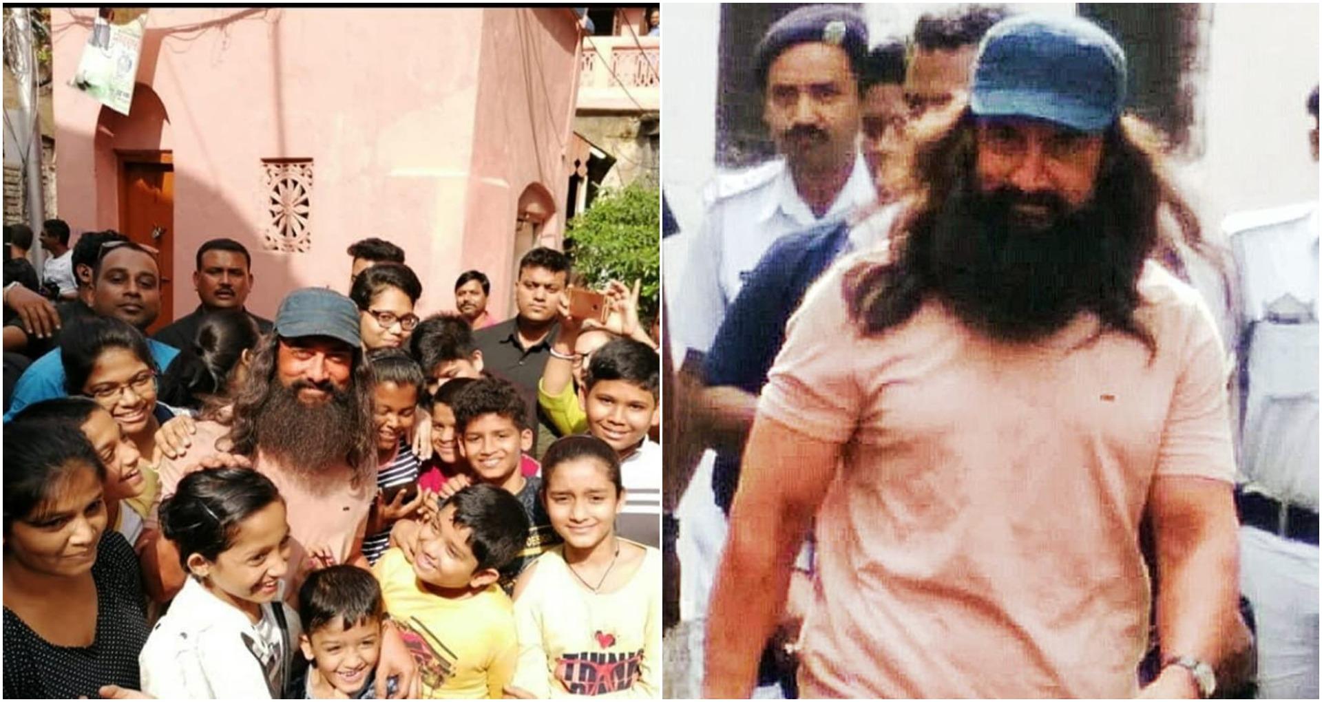 Aamir Khan Look: लाल सिंह चड्ढा से आमिर खान का वायरल लुक, लंबी दाढ़ी-लंबे बाल, मिस्टर परफेक्ट का ये कैसा हाल