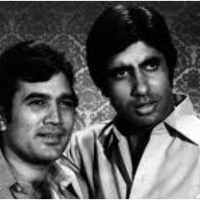राजेश खन्ना और अमिताभ बच्चन की तस्वीर (फोटो इंस्टाग्राम)