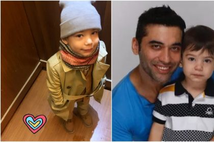 कुशल पंजाबी और उनके बेटे की तस्वीर (फोटो: इंस्टाग्राम)