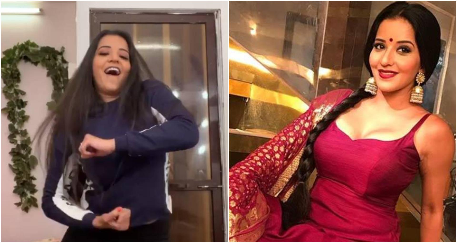 भोजपुरी अभिनेत्री मोनालिसा ने किया मुकाबला गाने पर डांस, लोग हुए पागल, देखें वीडियो
