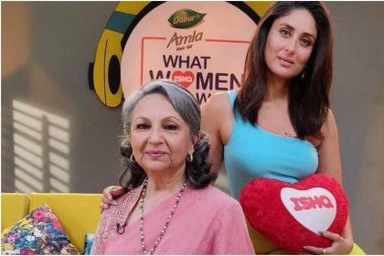 शर्मिला टैगोर और करीना कपूर की तस्वीर (फोटो:इंस्टाग्राम)