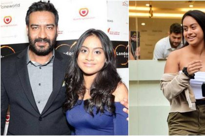 अजय देवगन और नायसा की तस्वीर (फोटो इंस्टाग्राम)