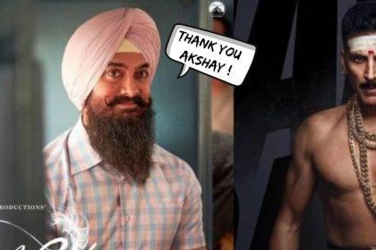 अक्षय कुमार ने टाली 'बच्चन पांडे' की रिलीज़ डेट, आमिर खान की 'लाल सिंह चड्ढा' को मिला सोलो रिलीज़ का मौका