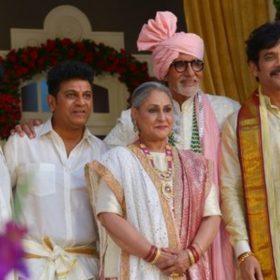 अमिताभ बच्चन साउथ सुपरस्टार्स के साथ (फोटो - ट्विटर))