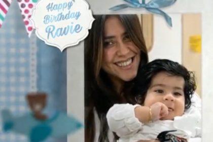 एकता कपूर ने बेटे रवि के पहले जन्मदिन पर शेयर किया वीडियो, नानाजी जितेंद्र ने कहा 'बार बार दिन ये आए…'