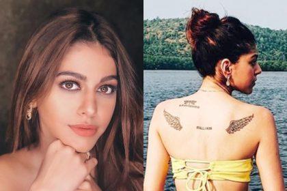 PHOTOS: जवानी जानेमन स्टार अलाया एफ को है टैटूज़ से प्यार, सोशल मीडिया पर भी करती हैं खुलकर फ्लॉन्ट