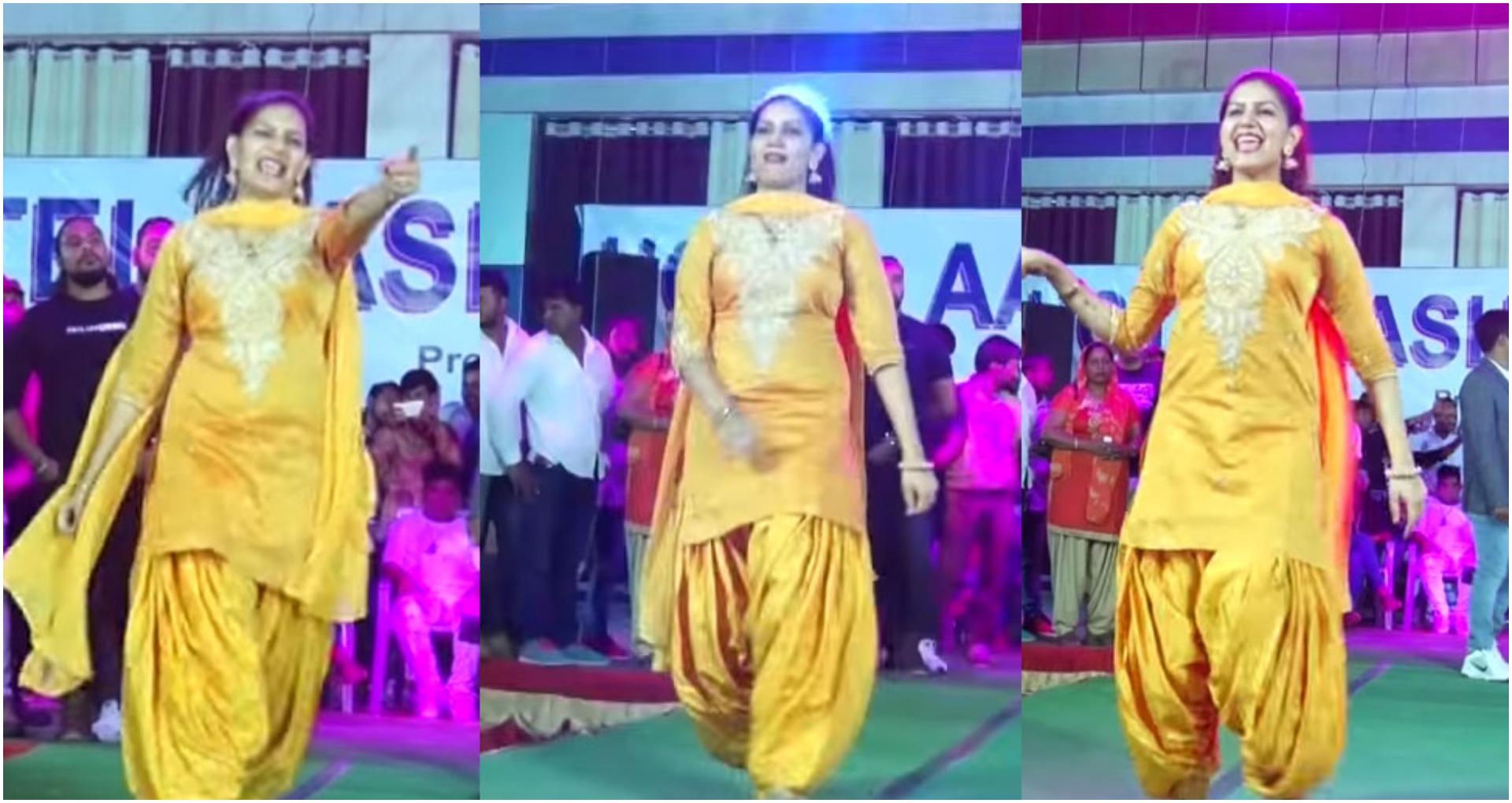 Sapna Choudhary Dance Video: सपना चौधरी ने 'गजबण पानी ने चाली' गाने पर लगाया तड़का, देखें वीडियो