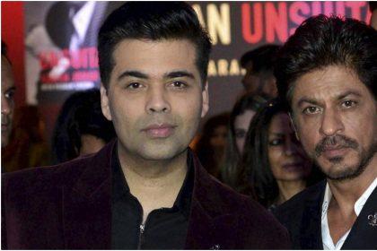 करण जौहर और शाहरुख खान की तस्वीर (फोटो: इंस्टाग्राम)