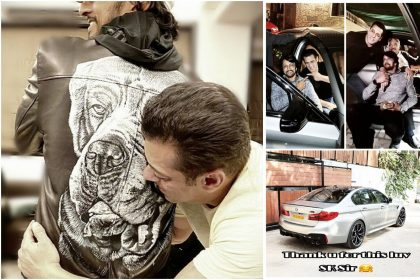 सलमान खान ने अपने फिल्म 'दबंग 3' के को स्टार किचा सुदीपा को एक नई चमचमाती BMW M5 कार उपहार में दी