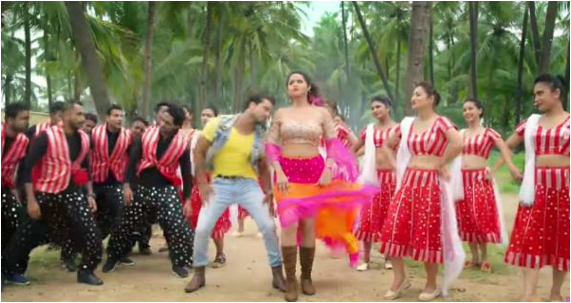 Khesari Yadav Video Song: खेसारी और काजलका 'डाल दे केवाडी में किल्ली' सॉन्ग पर जबरदस्त डांस, वीडियो हुआवायरल