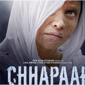 छपाक फिल्म का पोस्टर