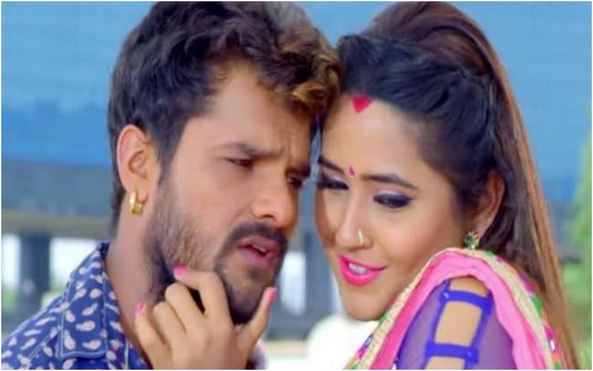 Bhojpuri Song: खेसारी लाल ने काजल राघवानी के साथ रोमांटिक अंदाज में मचाया धमाल, देखें वीडियो
