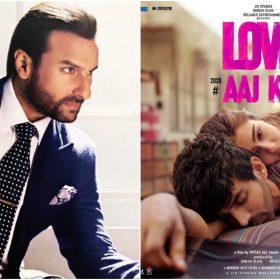 सैफ अली खान और लव आजकल फिल्म का पोस्टर (फोटो इंस्टाग्राम)