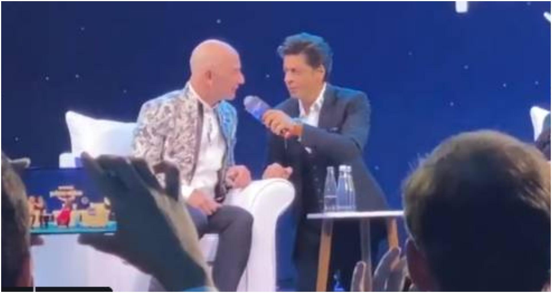 VIDEO: जब अमेज़न के फाउंडर जेफ बेजोस ने शाहरुख खान काडायलॉग 'डॉन को पकड़ना मुश्किल नहीं' कहा
