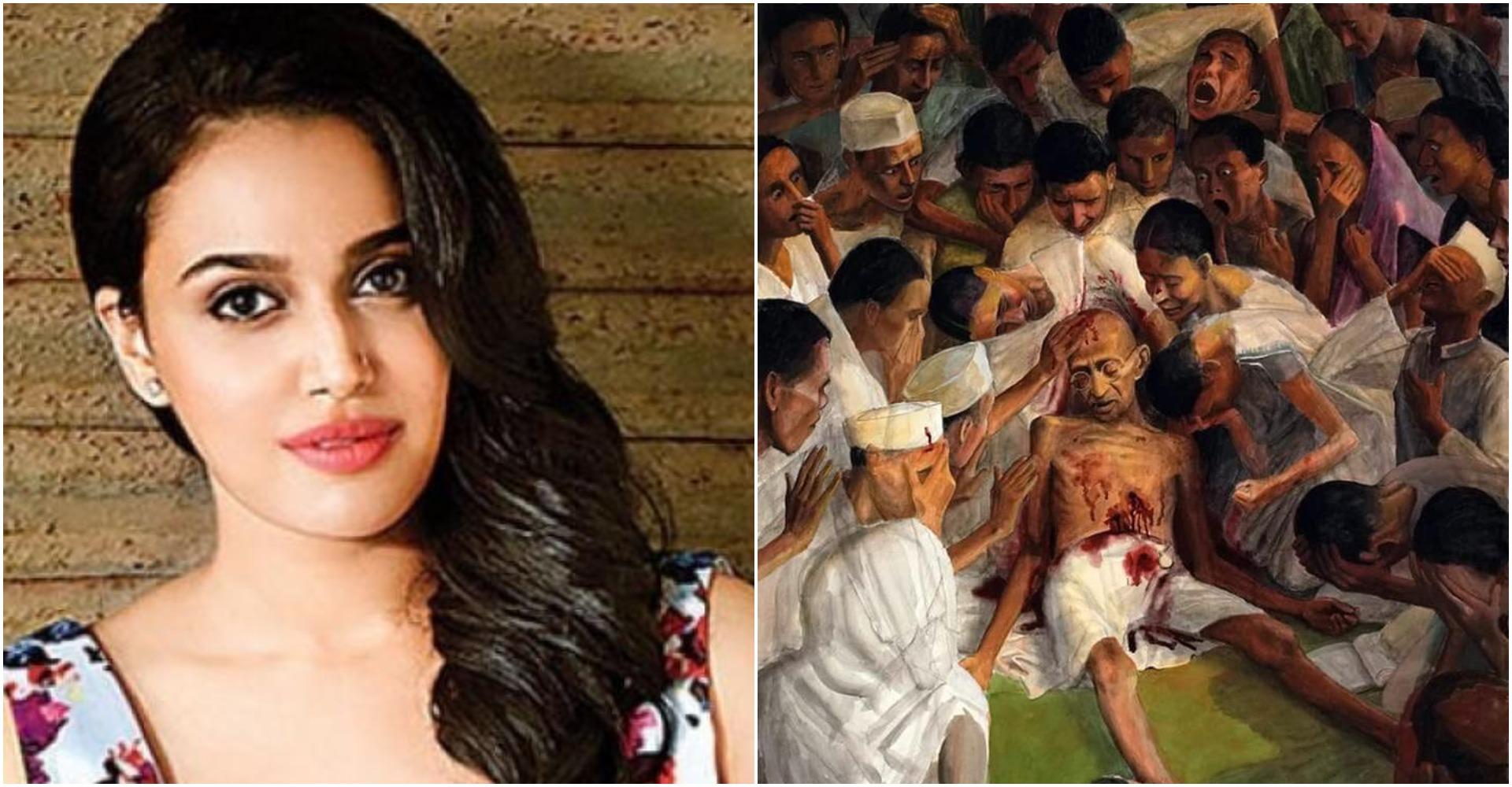 Swara Bhasker: स्वरा भास्कर ने महात्मा गांधी की पुण्यतिथि पर ट्ववीट कर बोली ये बात, ट्ववीट जमकर वायरल हुआ