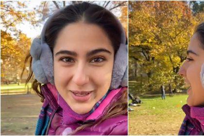 Sara Ali Khan Vacation: सारा अली खान ने एक बार फिर करोडो फैंस का दिल चुराया अपने इस शानदार वीडियो से