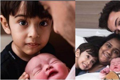 अर्पिता खान और उनके पति आयुष शर्मा की तस्वीर (फोटो: इंस्टाग्राम)