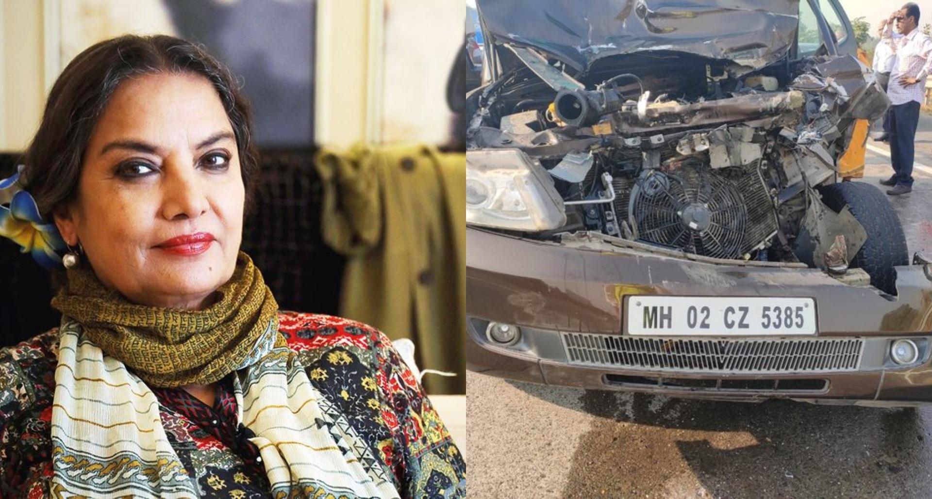 Shabana Azmi Accident: ट्रक ड्राइवर ने कीएफआईआर दर्ज, लगाया शबाना आज़मी के ड्राइवर पररैश ड्राइविंग का आरोप