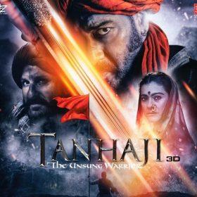 'तान्हाजी: द अनसंग वॉरियर' का पोस्टर